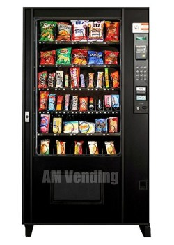 "ams39 used snack food machine - Remanufactured AMS  39"" Snack-Food Combo"