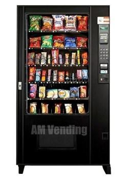 "ams39 used snack food machine - Refurbished AMS 39"" Snack-Food Machine"
