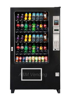 ams40 eb opt - AMS Bev 40 Glass Front Drink Machine
