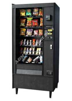 refurb ap 121 122 snack machine 1 - Automatic Products 122 Snack Machine