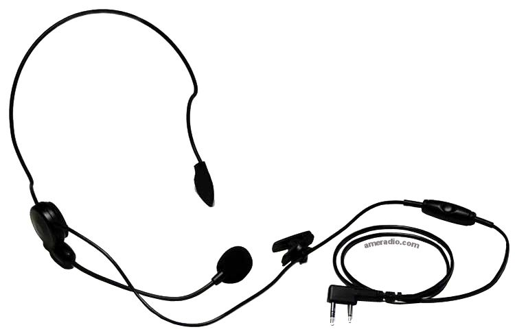 Kenwood KHS-22A Comfortable Single Ear Headset with Mic