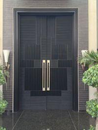 5 Stunning Contemporary Front Door Designs by AmerAdnan ...