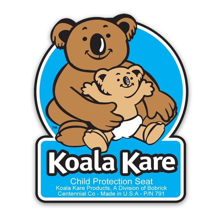 Koala Child Protection Seat Decal Model KB791 KB791
