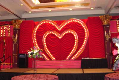 Moulin Rouge Theme Party Decor Rental Paris Eiffel Tower