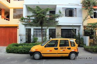 Taxi in Lima