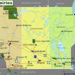 canadian pairie map