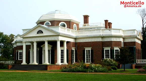 Das Monticello in Virginia @America.de