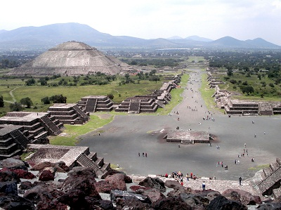 Teotihuacan-Sonnentempel
