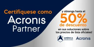 Certificación Acronis