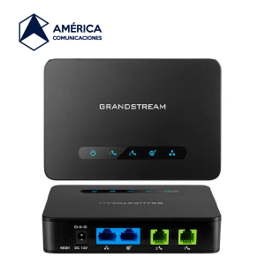 adaptador analogo grandstream ht 812