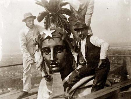 Head of Goddess Columbia