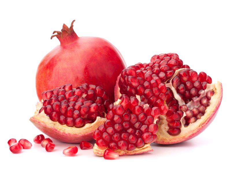 pomegranate fruit - seeds