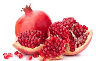 pomegranate fruit - seeds