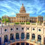 Old World Texas State Capitol Building in Austin