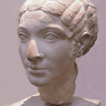 Bust of Geco-Egyptian Queen Cleopatra VII