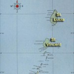 Map of the Windward Islands