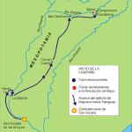 Map of Mesopotamia near Argentina