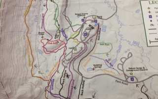 Map of Canaan Valley State Park
