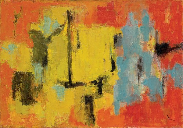 Alma Thomas Abstract Expressionist And Black Artist