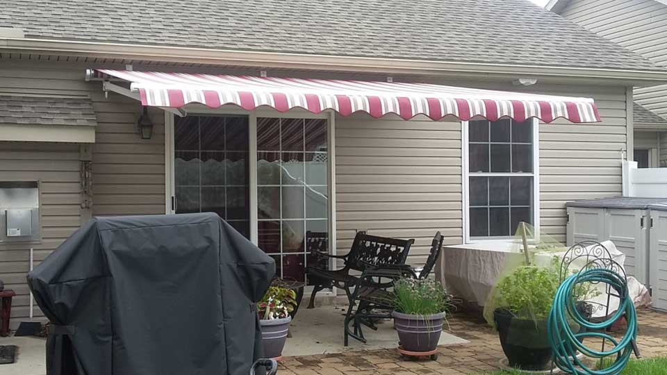 project corner retractable awning