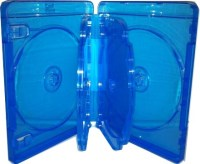 Blu-Ray Case - Light Blue 5 Disc Holder 22mm from American ...