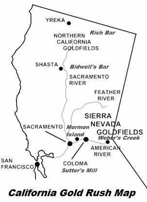 California Gold Rush, 1848