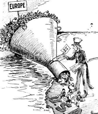 1921 Emergency Quota Act Cartoon