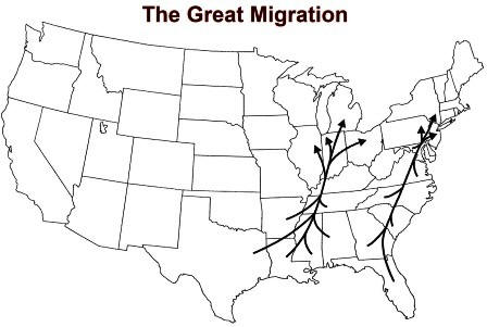 WW1 Great Migration: Causes and Effects for Kids