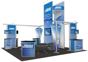trade show booth rental displays