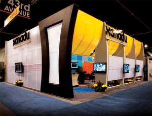 tension fabric trade show exhibits