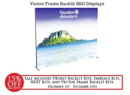Vector Frame SEG Backlit Displays
