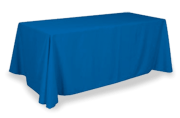 unprinted table throw
