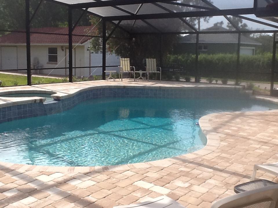 Pool Deck Pavers Orlando FL  American Pools  Spas