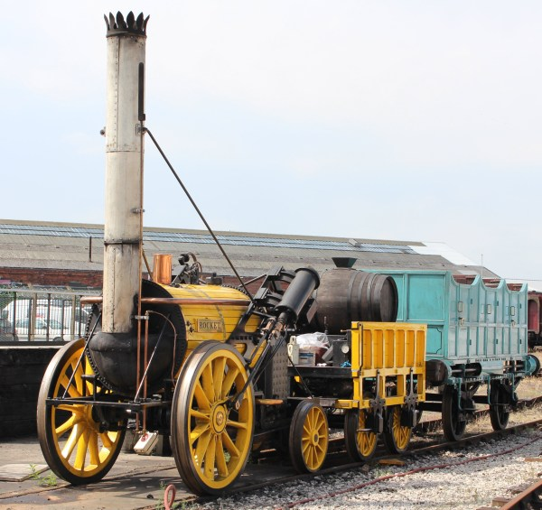 Stephenson' Rocket Modern Steam Locomotive