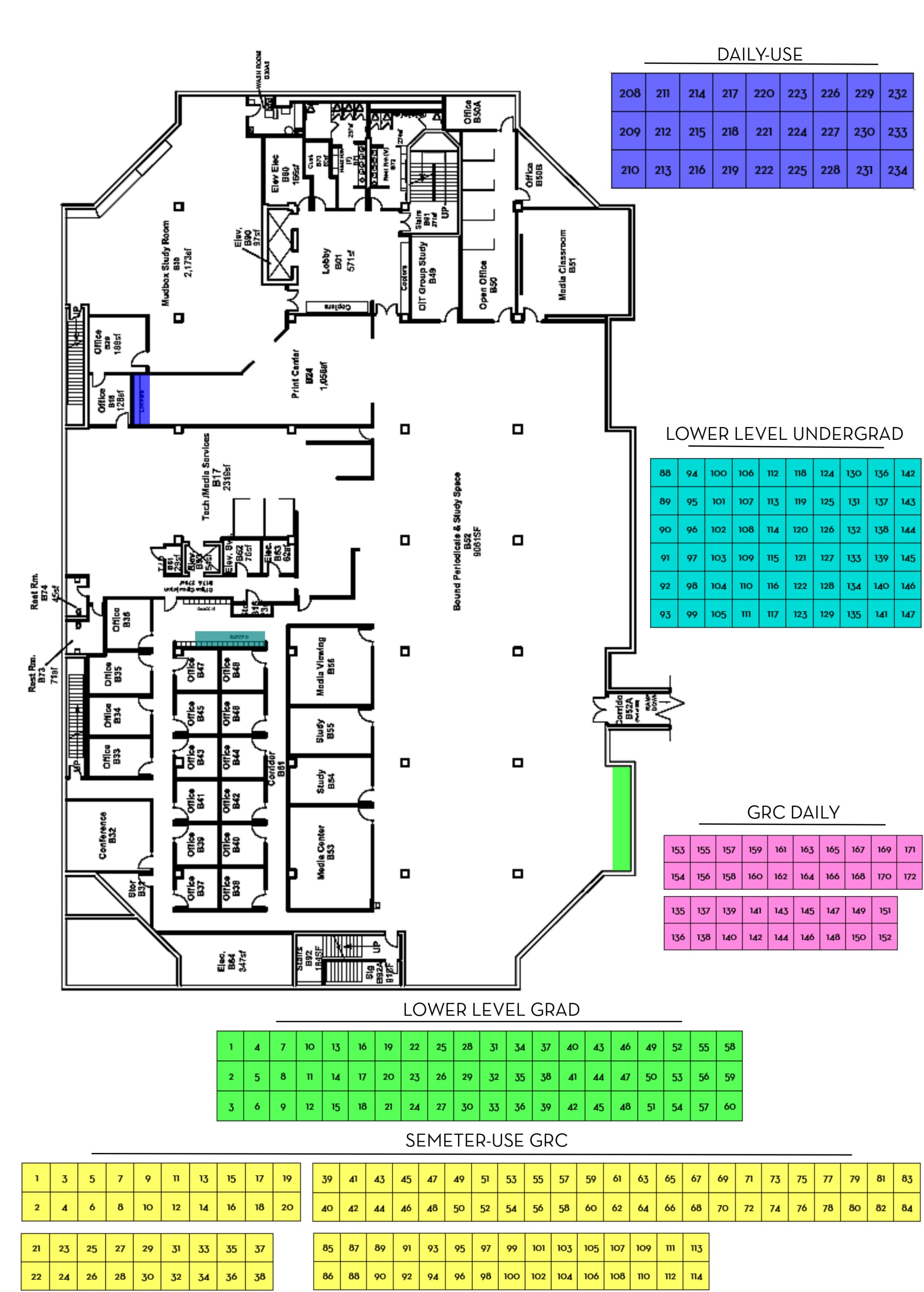 hight resolution of map icon map of lower level lockers
