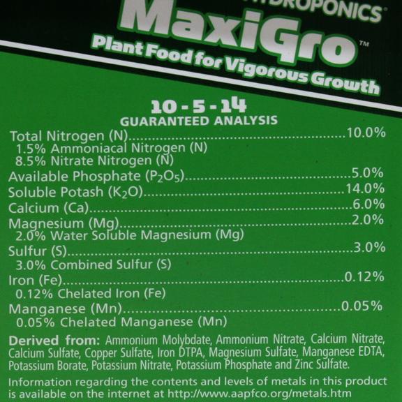 MaxiGro by General Hydroponics