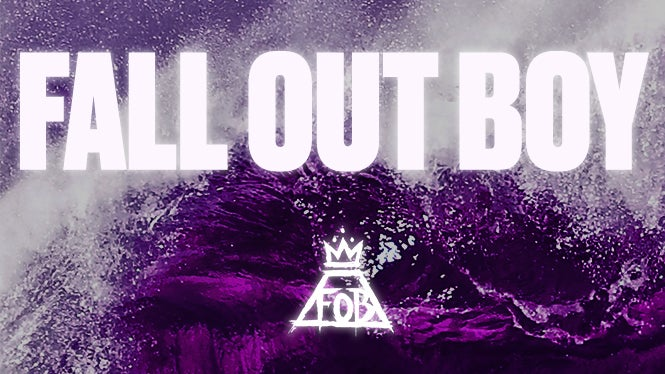 Fall Out Boy Logo Wallpaper Hd Fall Out Boy American Airlines Center
