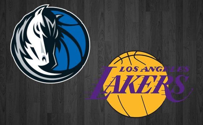 Mavericks Vs Lakers American Airlines Center