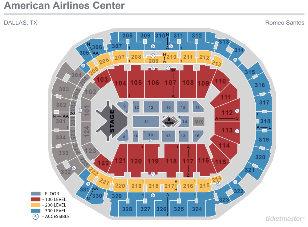 medium resolution of romeo santos seating map