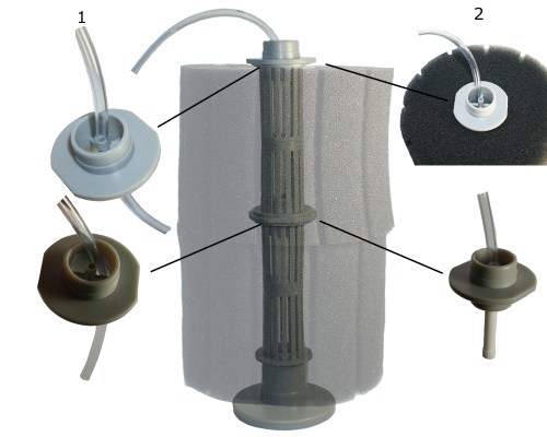 small resolution of hydro pond sponge filter 2 with airline