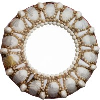 Shell Mirror; Oval and Round Mirrors; Seashell Collectibles