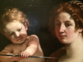 Venus, Mars and Cupid - Guercino 4