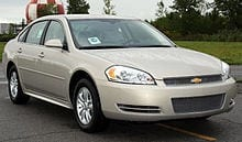 Chevrolet Impala Car Transport