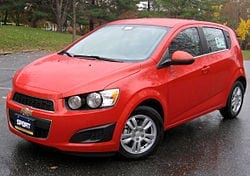 Chevy Sonic Auto Shipping