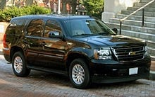 Chevrolet Tahoe Hybrid Auto Transport