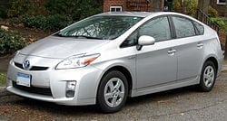 Vehicle Transportation Toyota Prius