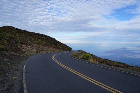 open road in Maui