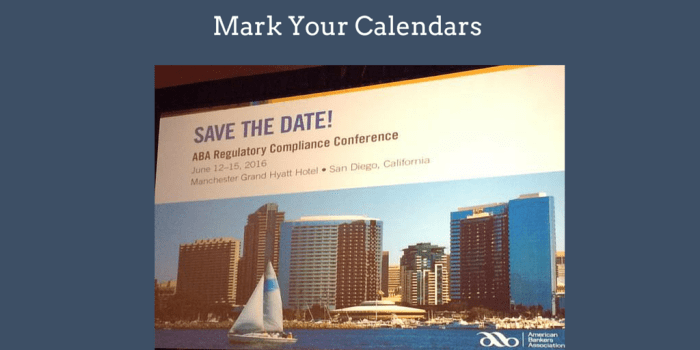 next years ABA Conference
