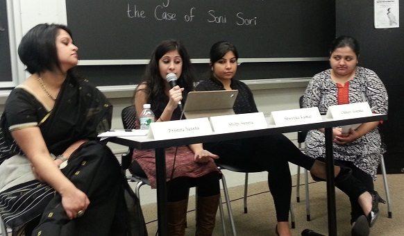 WRise holding its inaugural event at Massachusetts Institute of Technology on March 3rd. Photo credid: WRise-Boston and Zainab Lakhani