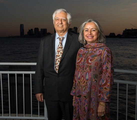 Indian American couple donate $3 5 million to New York university